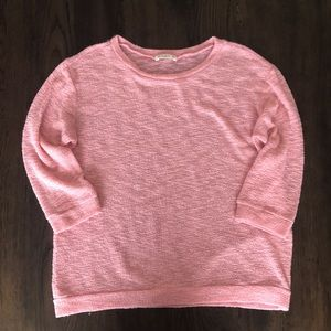 Pink Ginger G sweater